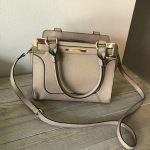 Anne Klein taupe colored hand bag